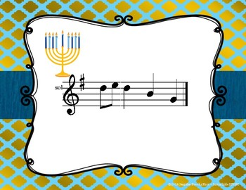 Hanukkah Melodies - Interactive Reading Practice Game {do}