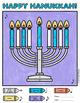 Hanukkah Color-By-Music Note Worksheet