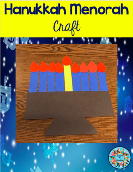 Hanukkah Menorah Craft