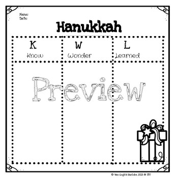 Hanukkah Mini Book