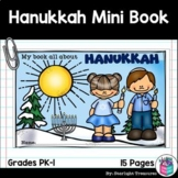 Hanukkah Mini Book for Early Readers - Christmas Activities