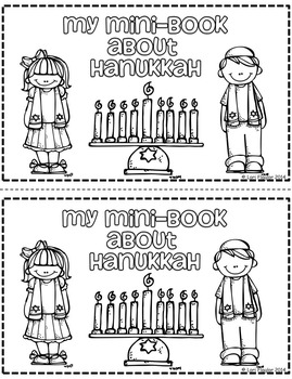 Hanukkah Minibook