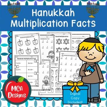 Hanukkah Multiplication Facts