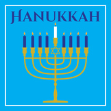 Hanukkah Music & Writing Activity