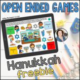 Hanukkah Open Ended Games for ANY Skill FREEBIE | Boom Cards™