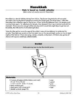 Hanukkah Paper Dreidel