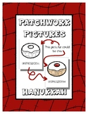 Hanukkah - Patchwork Pictures - 11 Picture with Word Color