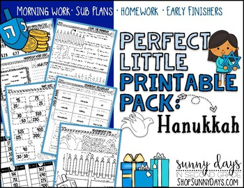 Hanukkah {Perfect Little Printable Pack}