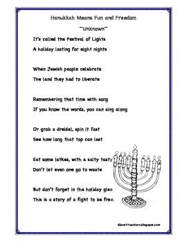 Hanukkah Poems for Poetry Journals