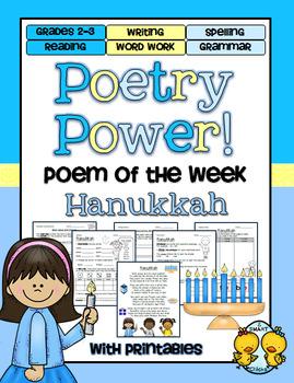 Hanukkah Poetry Power! Daily Literacy Practice