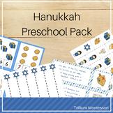 Hanukkah Preschool Activities Pack