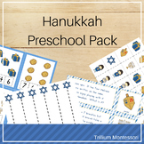 Hanukkah Preschool Activities Pack