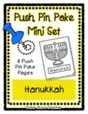 Hanukkah - Push Pin Poke No Prep Printables - 6 Pictures &
