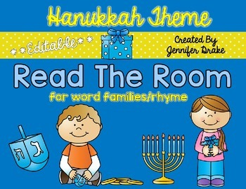 Hanukkah Read the Room **EDITABLE**