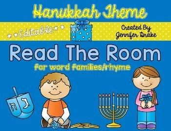 Hanukkah Read the Room **EDITABLE**