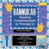 Hanukkah Reading Comprehension Passage