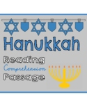 Hanukkah Reading Comprehension Passage & Questions!