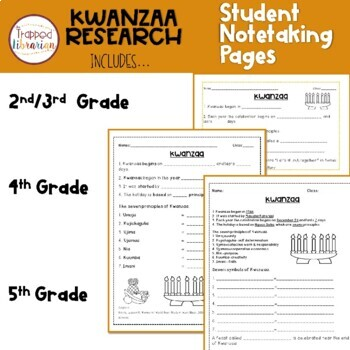 Kwanzaa Research Activities