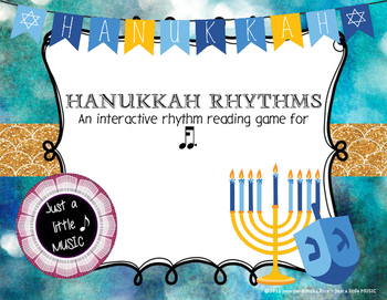 Hanukkah Rhythms - Interactive Reading Practice Game {ka tim}