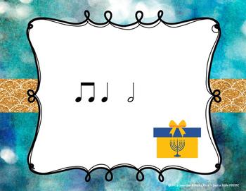 Hanukkah Rhythms - Interactive Reading Practice Game {ta-ah}