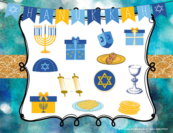 Hanukkah Rhythms - Interactive Reading Practice Game {ta titi rest}