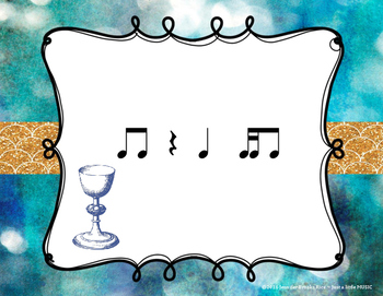 Hanukkah Rhythms - Interactive Reading Practice Game {tika ti}