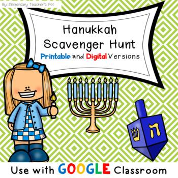 Hanukkah Scavenger Hunt