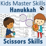 Hanukkah Scissors Skills Activities