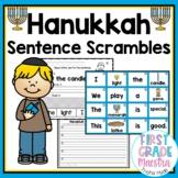 Hanukkah Sentence Scrambles