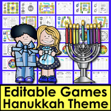 Hanukkah Activities: Sight Words Game Boards - First 102 Dolch