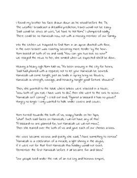 Chanukah Story ( Chanukah Comes Tonight)