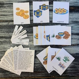 Hanukkah Symbols Montessori 4 Part Cards