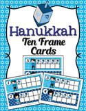 Hanukkah Ten Frame Cards