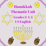 Hanukkah Thematic Unit (Intermediate) For Very Busy Teachers