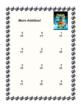 Hanukkah Themed Math Addition & Subtraction Within 20 Worksheets