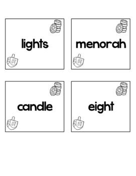 Hanukkah Word Work Activities