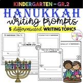 Hanukkah Writing Prompts!