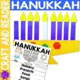 Hanukkah activities - flip book and menorah craft