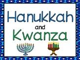 Hanukkah and Kwanzaa