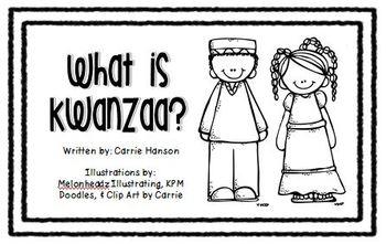 Hanukkah and Kwanzaa Mini Books