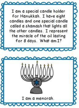 Hanukkah and Kwanzaa Riddles
