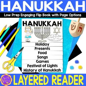 Hanukkah flip book activity