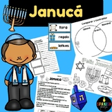 Hanukkah in Spanish Activities (Januca actividades)