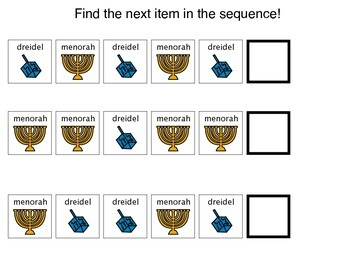 Hanukkah sequence