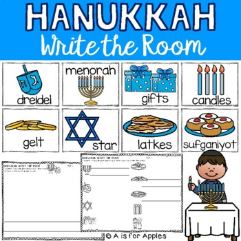 Hanukkah Write the Room