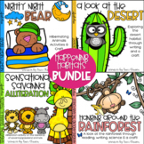 Habitats - Reading, Writing and Crafts - Happening Habitats BUNDLE