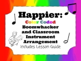 Happier: Color Coded Boomwhacker and Classroom Instrument