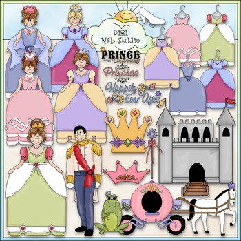 Happily Ever After Clip Art - Fairytale Clip Art - CU Clip