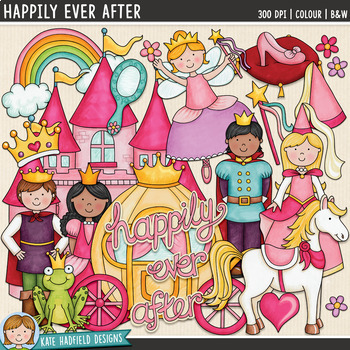 "Fairy Tale Clip Art: ""Happily Ever After"""