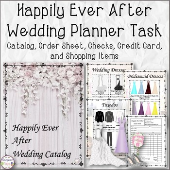 Happily Ever After Wedding Planner Math Task